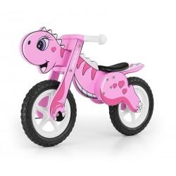 Dino pink - balance running bike