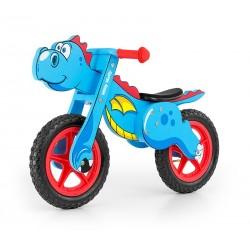 Dino blue - balance running bike