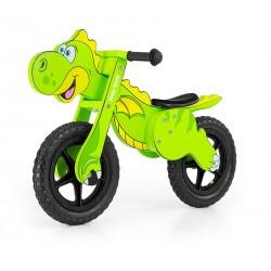Dino green - balance running bike