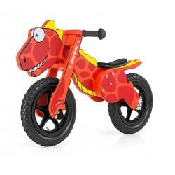 Dino red - balance running bike