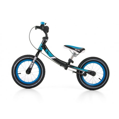 Young - balance bike with brake - turquoise