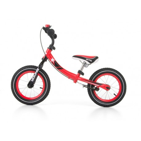 Young - balance bike with brake - red