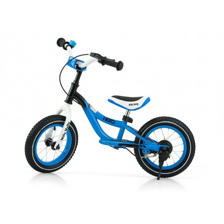 Hero - balance bike with brake - blue
