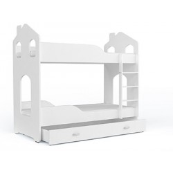 Bunk bed with mattresses House 180x80 cm