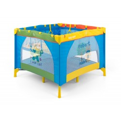 Square Playpen Fun Multicolor