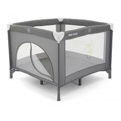 Square Playpen Fun Grey
