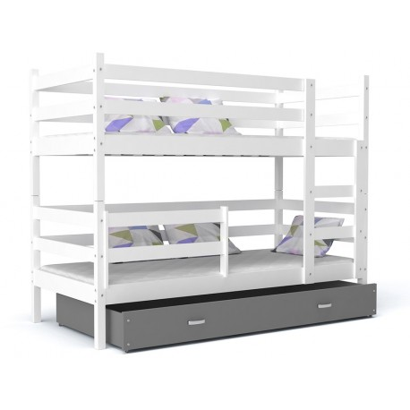 Bunk bed John with drawer 180x80 cm