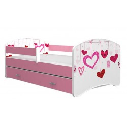 Toddler junior bed Lucky Collection with drawer