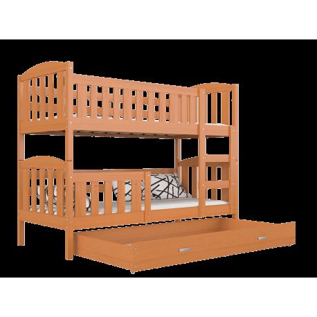 Solid pine wood bunk bed Jacob 2 160x80 cm