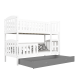 Bunk bed Jacob 2 with drawer 160x80