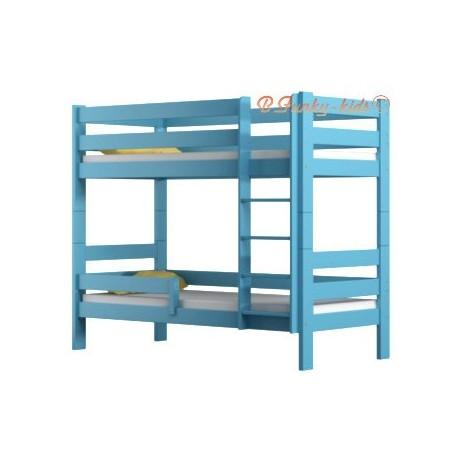Solid pine wood bunk bed Casper 200x90 cm