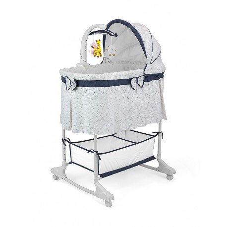 Cradle for baby Sweet Melody 4 in 1 Grey-navy