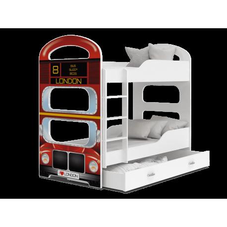 Bunk bed Dominique London Bus