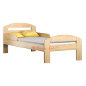 Solid pine wood bed Tim2 180x80 cm