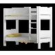 Solid pine wood bunk bed Walter 160x80 cm