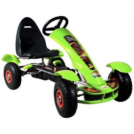 Go-cart Formula Sport green
