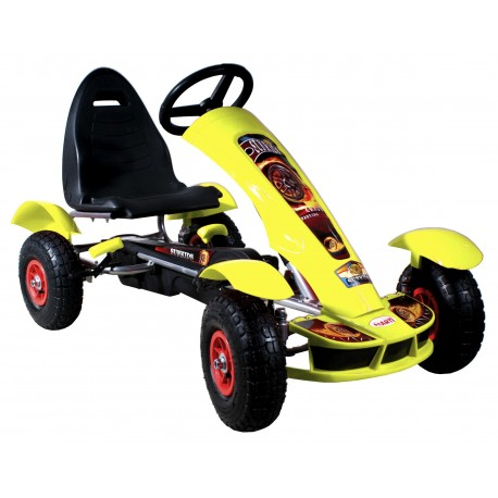 Go-cart Formula Sport yellow