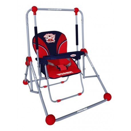 Swing and chair 2 in 1 red