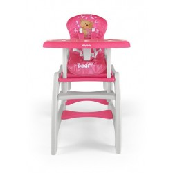 High chair with play table conversion Bear