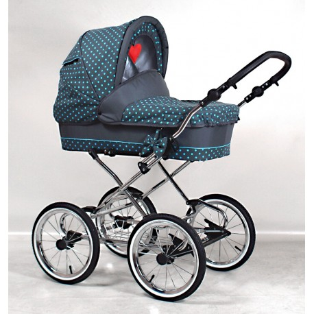 Classic pram 3 in 1 Guilletta