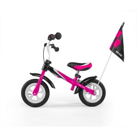 Dragon deluxe - balance bike with brake - pink
