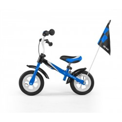 Dragon deluxe - balance bike with brake - blue