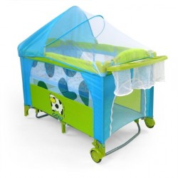 Travel cot with changer Mirage Cow
