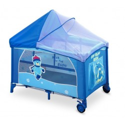 Travel cot with changer Mirage Bear