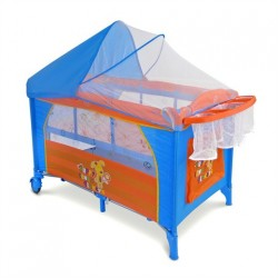 Travel cot with changer Mirage Puppy