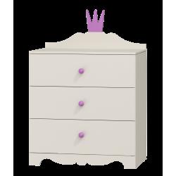 Dresser Princess - 3 drawers
