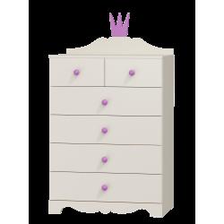 Dresser Princess - 6 drawers