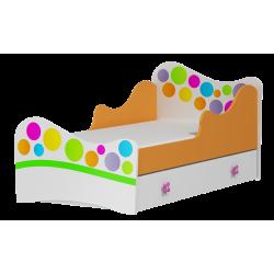Bed Rainbow 160x80 cm