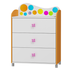 Dresser Rainbow - 3 drawers