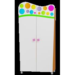 Wardrobe Rainbow 2-doors
