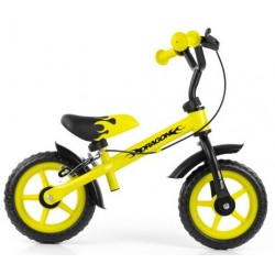 Dragon - balance bike with brake - yellow
