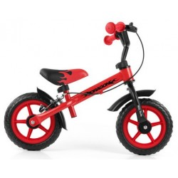 DRAGON - balance bike with brake - red