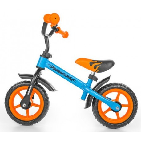 Dragon - balance bike - blue-orange