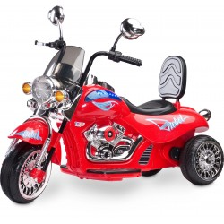 Electric ride-on Chopper Motorbike Rebel Red