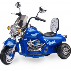 Electric ride-on Chopper Motorbike Rebel Blue