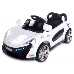 Electric ride-on car Aero 12V White with remote control