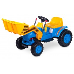 Electric ride-on car Bulldozer blue