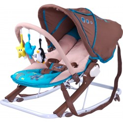 Swing bouncer Aqua brown