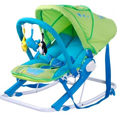 Swing bouncer Aqua green
