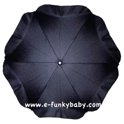Umbrella for stroller Black