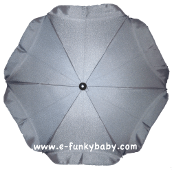 Umbrella for stroller Grey