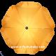 Umbrella for stroller Yellow
