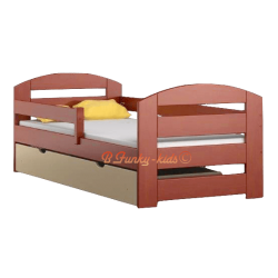 Solid pine wood daybed Kam3 with drawer 180x80 cm