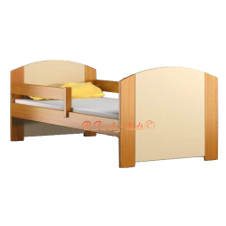 Solid pine wood junior bed Kam4 160x70 cm