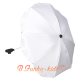 Umbrella for stroller White