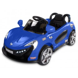 Electric ride-on car Aero 12V Navy Blue with remote control